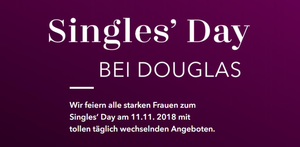 Singles Day bei Douglas